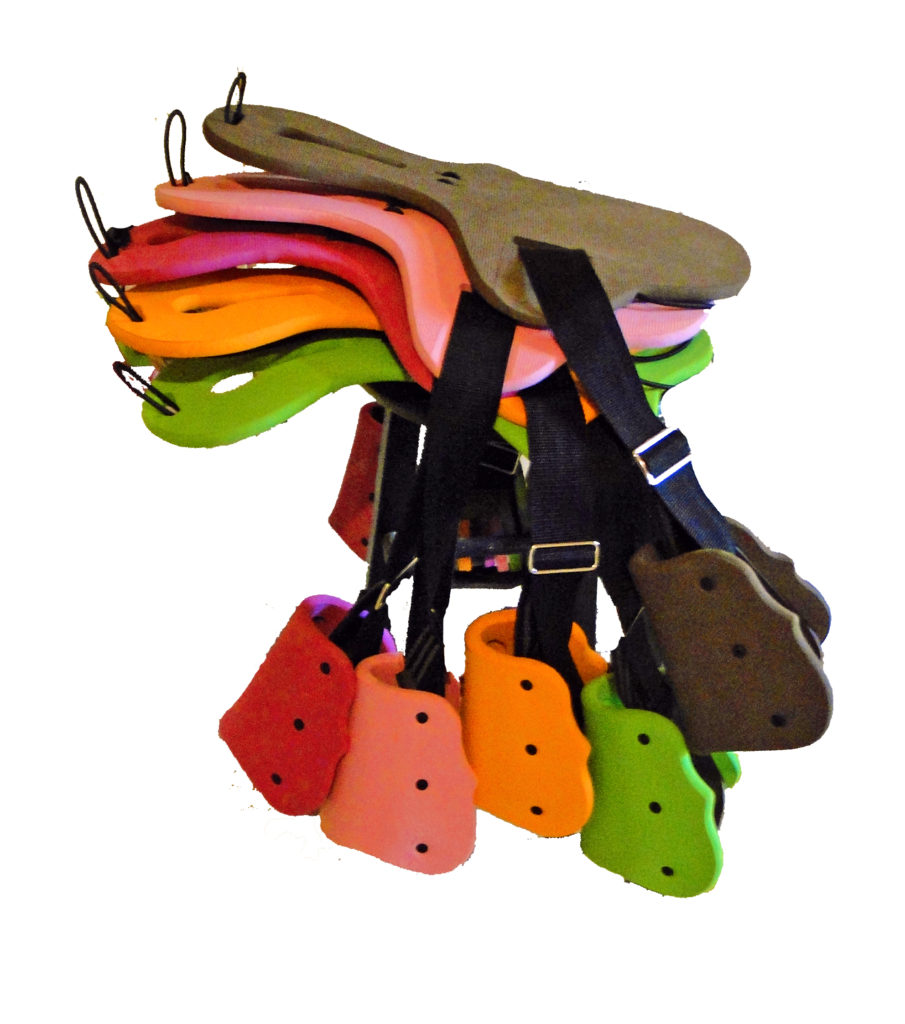 Saddle Sidekicks come in many fun colors and leather.