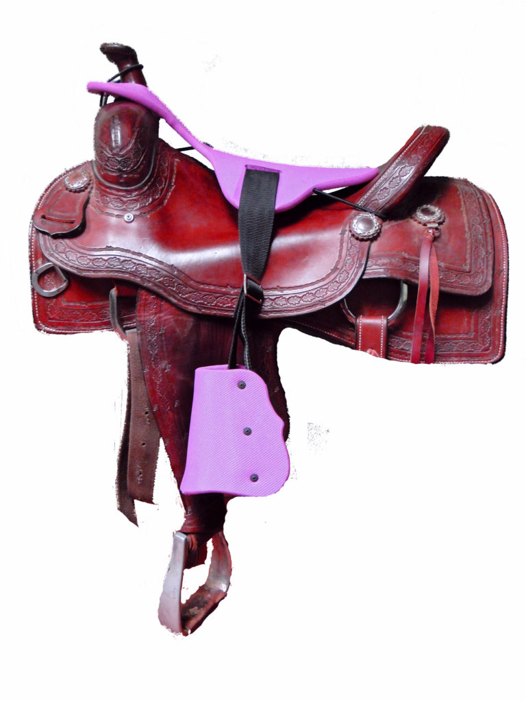 saddle purple