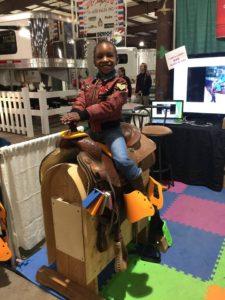 Saddle Sidekick being used